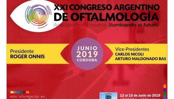 XXI Congreso Argentino de Oftalmología 2019